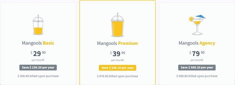 Mangools-Pricing