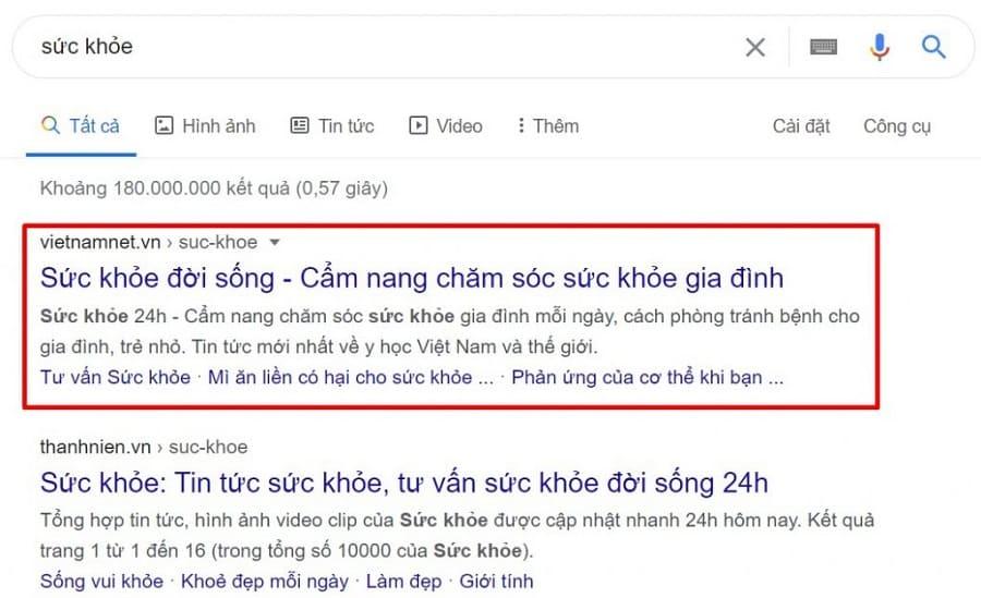 Cách tìm Phantom Keyword trên Google