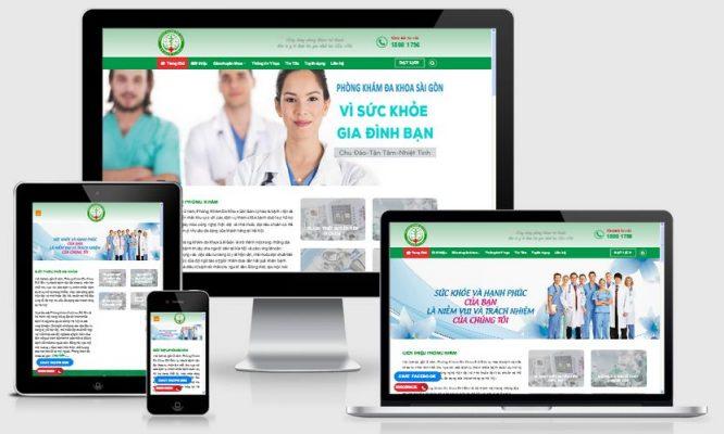 website-phong-kham
